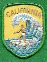 VINTAGE CALIFORNIA SURFING PATCH  1970'S