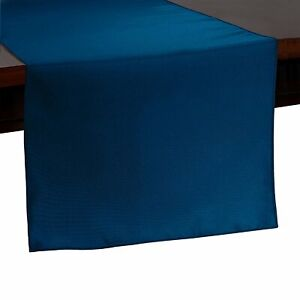 """Table Runner Polyester 12X108""""  By Broward Linens (Variety Of Colors)"""