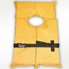 Type II Yellow Life Jacket Vest PFD - Adult Universal - Coast Guard Approved