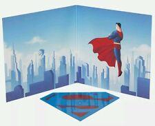 SUPERMAN THE ANIMATED SERIES SOUNDTRACK NEWBURY COMICS EXCLUSIVE DIE-CUT S VINYL