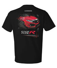 Excel Sportswear Licensed Honda Civic Type R Dissolve T-shirt Automotive
