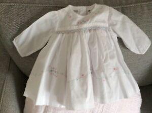 Sarah Louise baby girl dress 0/3 months