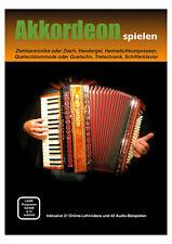 """Classic Cantabile Akkordeonschule """"akkordeon Spielen"""" umfangreiche Übungen"""
