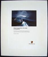 "PORSCHE OFFICIAL ORIGINAL 911 996 TURBO "" SEX "" ADVERTISING  POSTER 2003 USA."