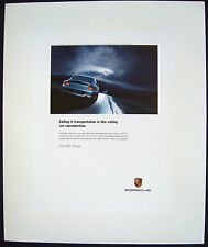 "PORSCHE OFFICIAL ORIGINAL 911 996 TURBO "" SEX "" ADVERTISING  POSTER 2003 USA"