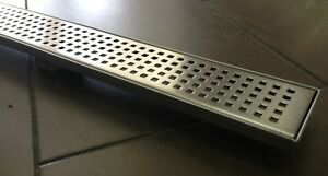 1100mm SQUARE PATTERN SHOWER GRATE