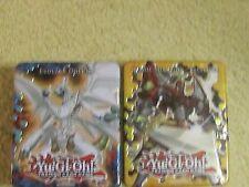2x Empty Mega Tin Evolzar Dolkka & Heroic Champion - Excalibur 2012 Yu-Gi-Oh!