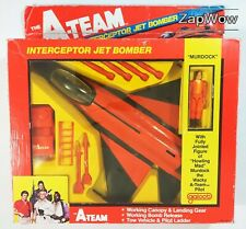 A-Team Interceptor Jet Bomber 1988 Galoob Murdock Action Tv Movie 1980s