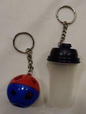 *L@@K Tupperware Miniatures Keychains Lot quick shake shape o ball