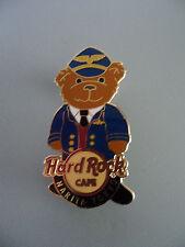 Hard Rock Cafe Narita Tokyo - Pilot - Cute Airlline Teddy Bear HRC Pin