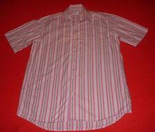 Lacoste Regular Collar Striped Short Sleeve Men's Casual Shirts & Tops