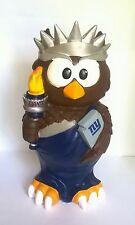 "New York Giants NFL Team 9"" Garden Owl Gnome Figure"
