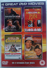 SHAWSHANK REDEMPTION, EDUCATING RITA, CARRY ON CAMPING, ON GOLDEN POND, DVD SET