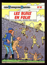 TUNIQUES BLEUES T 32   LES BLEUS EN FOLIE   LAMBIL / CAUVIN     EO