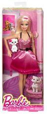 Barbie Doll and Pet Poodle Dog Giftset Mattel BLR73
