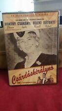 Csárdáskirálynő - DVD Csárdás Queen - Hungarian - Honthy Hanna New PAL Region 2