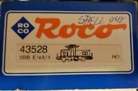 Roco 43528 Shell only Ee 3/3 Switcher Red era V SBB CFF FFS includes pantograph