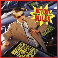 DON HENLEY - ACTUAL MILES: THE GREATEST HITS CD ALBUM
