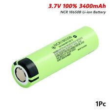 Alto consumo NCR 18650B Batería 3.7V 3400mAh Recargable Max 20A Para Juguete Torch 7