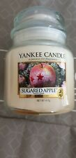 Yankee Candle Sugared Apple MEDIUM JAR VHTF RARE