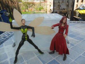 Marvel Legends - Modok BAF Series 15 - The Wasp & Scarlet Witch - Toy Biz 2006