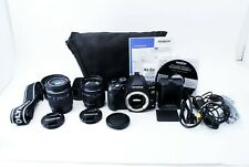 OLYMPUS EVOLT E-620 Camera w/ 14-42mm 40-150mm Double Zoom Lens From Japan Exc++