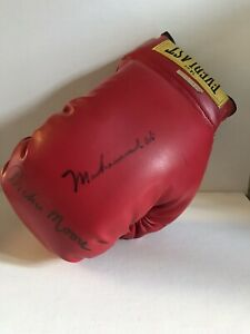 Muhammad Ali Archie Moore Boxing Glove Autographed + COA Field Of Dreams Boxer