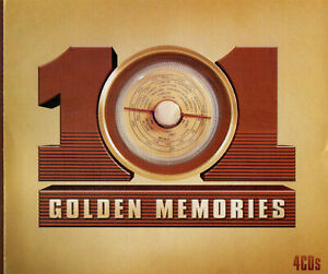 101 Golden Memories ( 4CD BOX SET) Vera Lynn,Frank Sinatra,Al Martino - NEW!!!