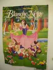 SNOW WHITE  Large French Movie Poster 46 by 62 1992 Walt Disney Near mint