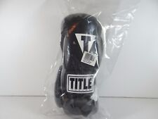 New in Bag - Title Boxing Hit It Hard Training Gloves Reg - Black