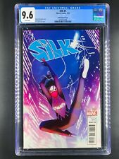 Silk 1  CGC 9.6  NM+  White Pages  Stacey Lee Art  Forbes Variant Cover  2016