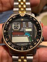 Citizen Windsurf D060 Aqualand Promaster - Rare Collectible Vintage Watch
