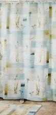 "Avanti Blue Water Fabric Shower Curtain 70"" x 72"" NIP"