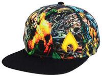 DC Comics Aquaman Men's Sublimated Snapback Hat Cap