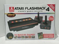 Atari Flashback 4 Classic Game Console 2 Wireless Controls Once 76 Games