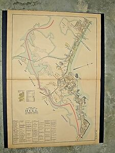 PART OF HULL, MA.,  VINTAGE 1903 MAP.,  PLATE 21