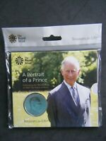 2018 The 70th Birthday of HRH Prince Charles £5 Five Pound BU Coin Pack - Sealed