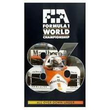 GENUINE AUTHENTIC F1 1986 REVIEW VHS FORMULA ONE OFFICIAL REVIEW VIDEO