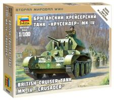 Zvezda 1/100 British CRUISER TANK MK. IV crociato # 6227