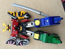 Power Rangers samurai main megazord 5 zords to one huge robot toy