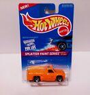 1995 Hotwheel (#-408) Rescue Ranger Orange Splatter Paint Series 1/4 new card T1