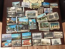 Lot of 1000+ Vintage Postcards Chrome, Linen,Early 1900's All USA