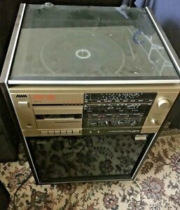 AWA TURNTABLE Record Player / STEREO MUSIC CENTRE SM-23