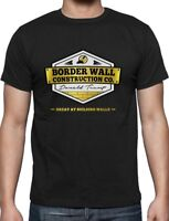 Donald Trump USA Border Wall Construction Company Support T-Shirt
