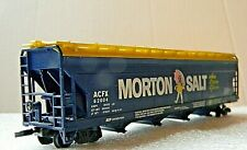 Tyco Morton's Salt ACFX 62004 Covered Hopper - Custom Billboard -  RARE - HO