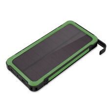 50000mah Solar Panel Power Bank 6 LED 2USB Backup Battery Charger For Cell Phone