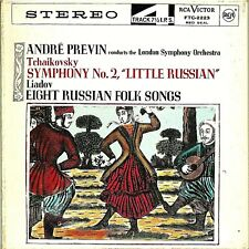 """""""Tchaikovsky Symphony No. 2""""  Andre Previn ~ Stereo Reel/Reel Tape 7 1/2 IPS"""
