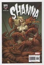Shanna, the She-Devil #7 (Oct 2005, Marvel) Frank Cho Knights D