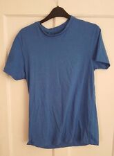 Mens 'PEACOCKS' - Blue T-Shirt . Size S. vgc