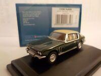 Jenson Interceptor, Green, Black, Model Cars, Oxford Diecast